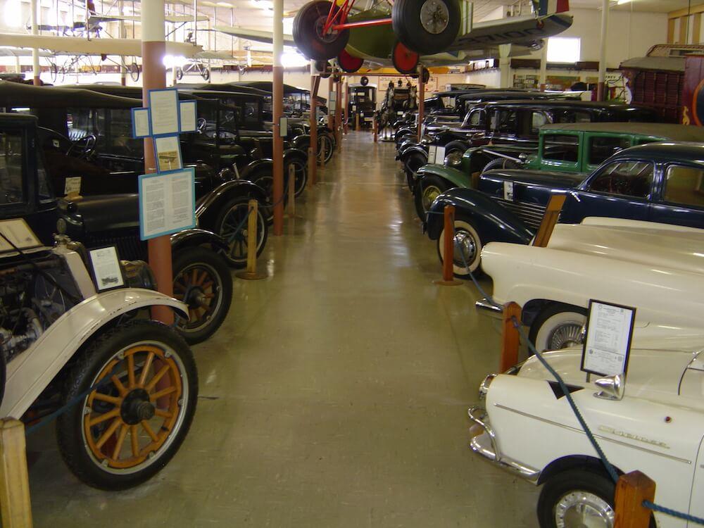 Automobiles, Pioneer Village