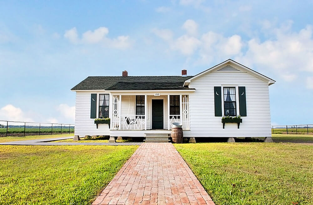 Johnny Cash Boyhood Home in Dyess, Arkansas