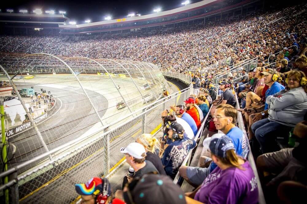 Bristol Motor Speedway in Bristol, Tennessee
