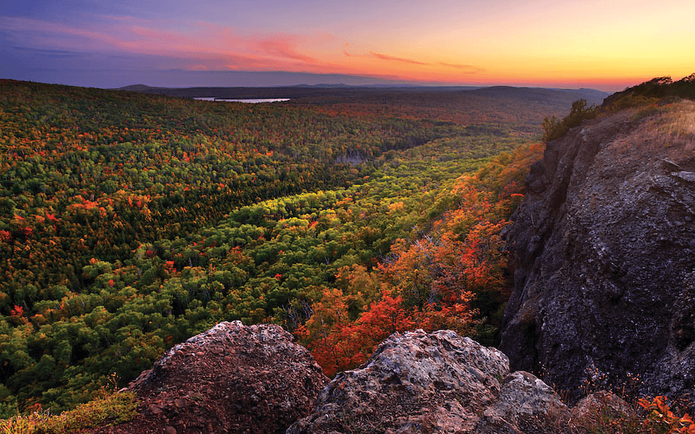 Brockway Mountain in Michigan's Upper Peninsula