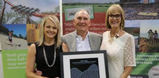 Ferguson receives Indiana tourism award