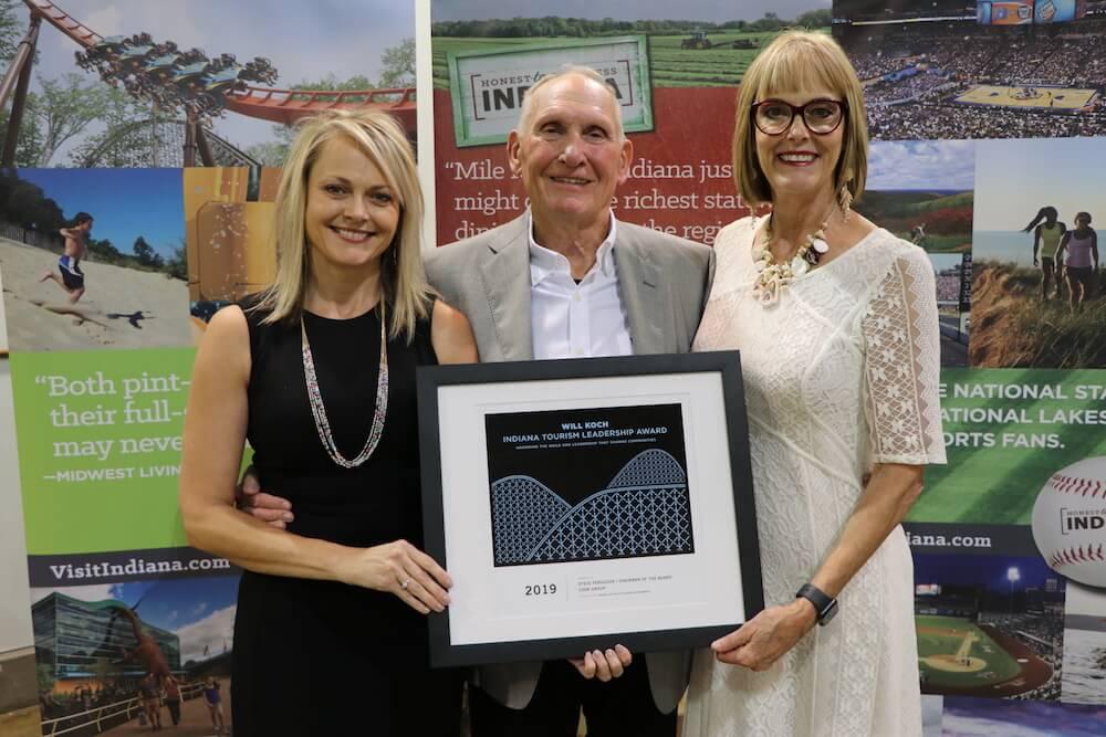 Ferguson receives Indiana tourism award
