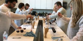 Temecula Valley wine blending activity