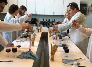 Temecula Valley wine blending activity