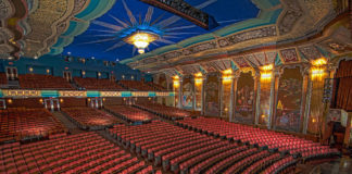 interior of The Paramount Theatre