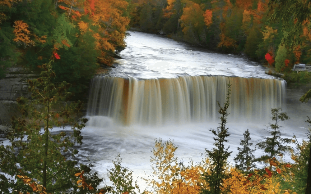 Upper Taquamenon Falls Michigan's Upper Peninsula uptra