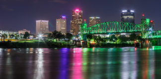 Little Rock, Arkansas, skyline