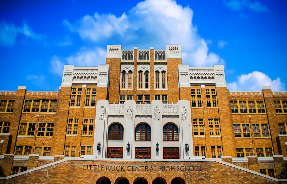 Little Rock Central High School in Little Rock, Arkansas