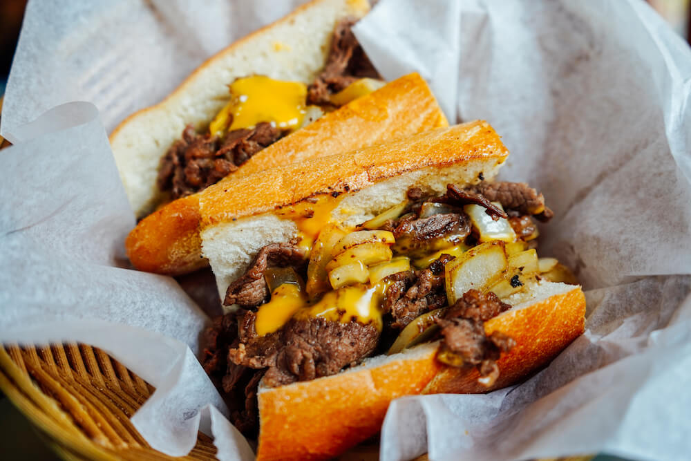 Campos Cheesesteaks Philadelphia food culinary