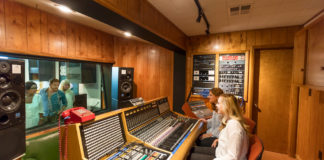 Muscle Shoals Sound Studio in Sheffield, Alabama