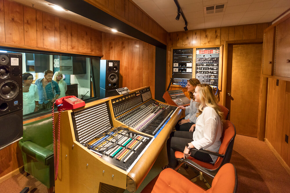 Muscle Shoals Sound Studio in Sheffield, Alabama