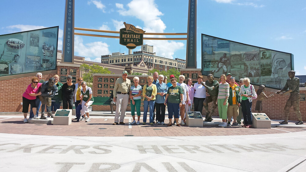 Packers Heritage Trail, Green Bay, Wisconsin