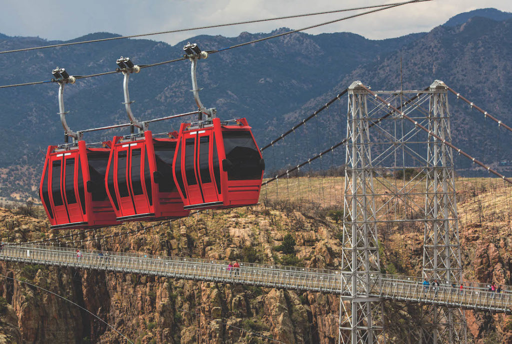 Gondolas, Royal Gorge Bridge & Park
