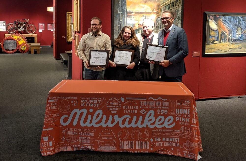 MTJA GEMmy Award recipients in Milwaukee