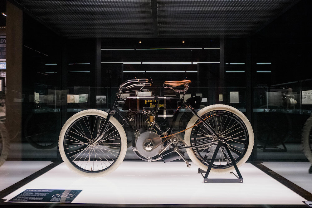 Harley-Davidson Museum in Milwaukee