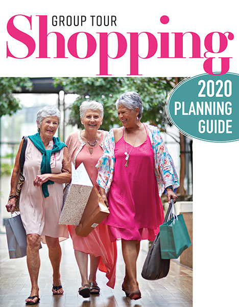 The Group Tour Shopping 2020 planning guide is available online