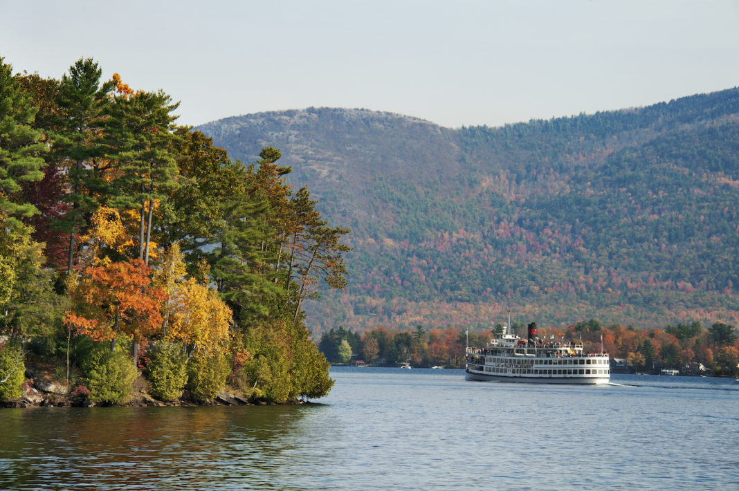 Lake George cruise