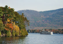 Lake George cruise