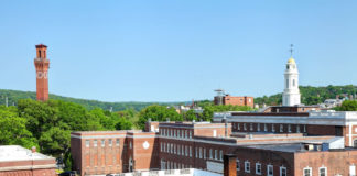 Waterbury CT skyline