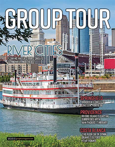 December 2019 issue of Northeast/Midwest Group Tour magazine