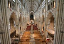 York Minster England interior