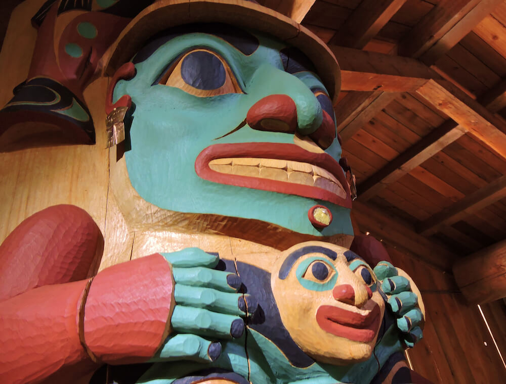Alaska Native Heritage Center Carving