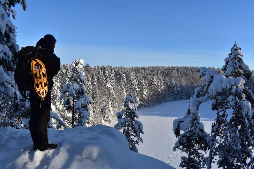 Lake Haukkalampi Finland