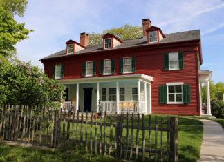 Weir Farm house