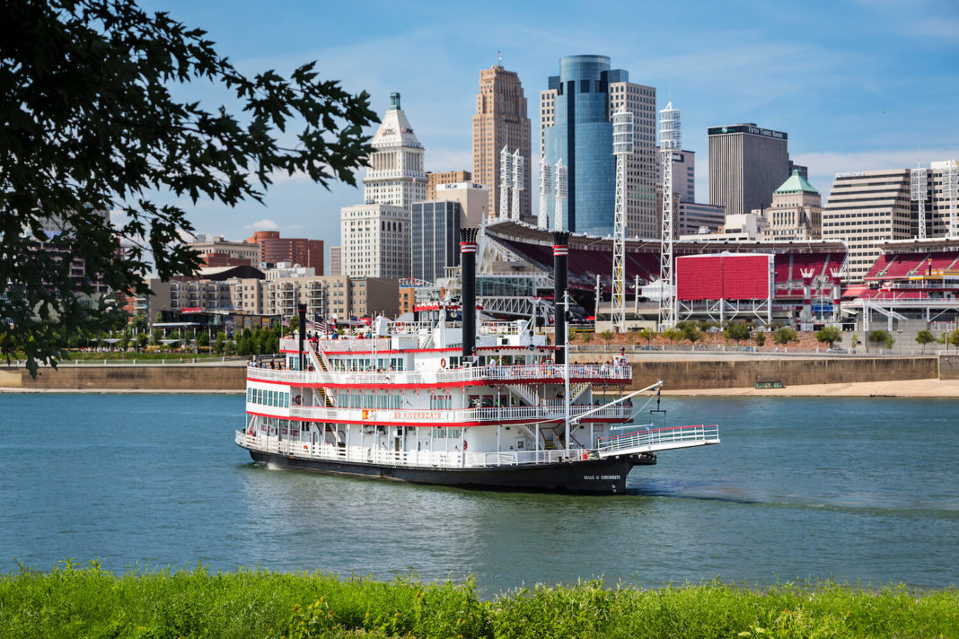 Cincinnati river cities