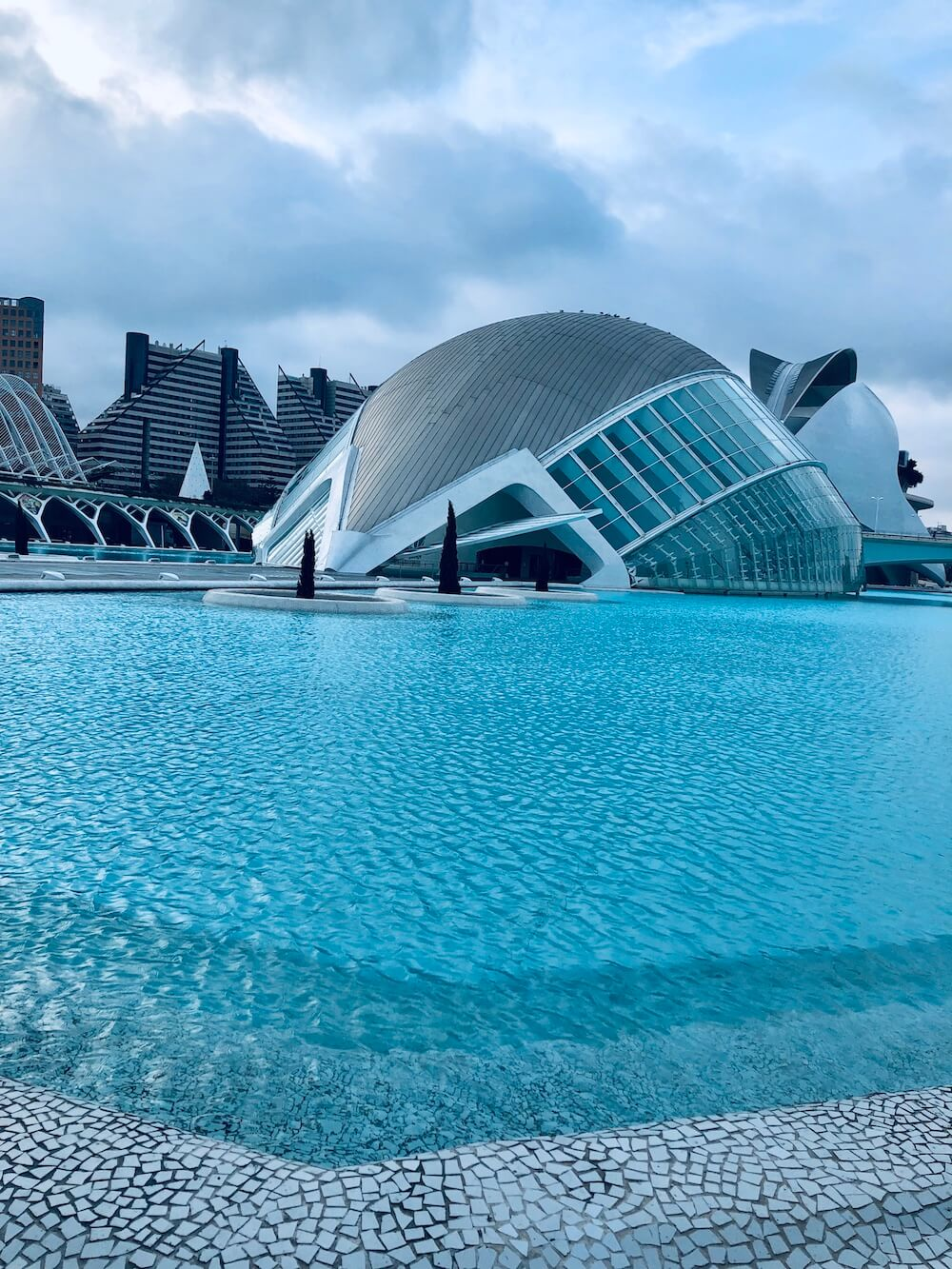 City of Arts and Sciences Valencia Spain Costa Blanca
