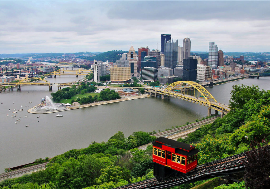 Pittsburgh river cities