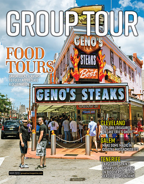 Food Tours are featured in this issue