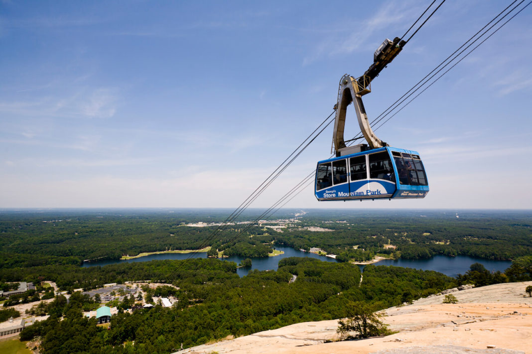 DeKalb County Stone Mountain Park gondola