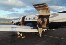 Utah Luxury Tours airplane
