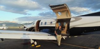 Utah Luxury Tours airplane
