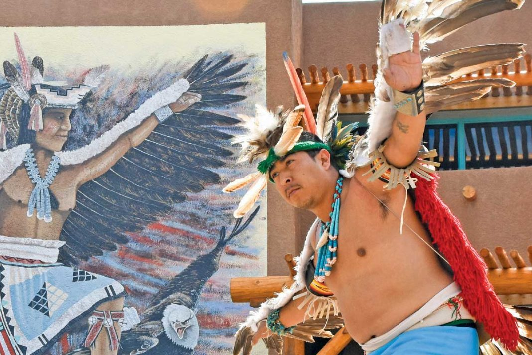 Cellicion Dance Group from Zuni Pueblo, Indian Pueblo Cultural Center, Albuquerque, N.M.