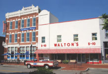 The Walmart Museum Front