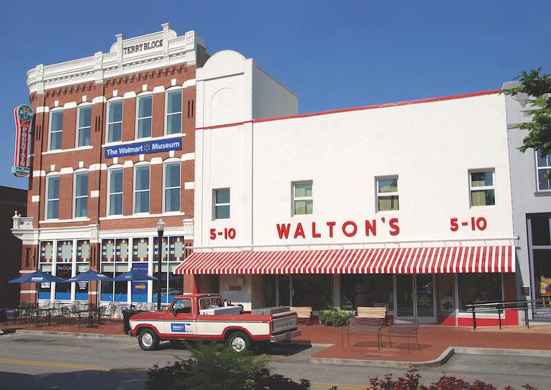 The Walmart Museum Front