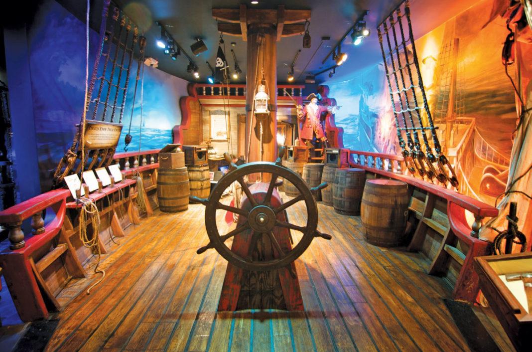 Main deck, St. Augustine Pirate & Treasure Museum, St. Augustine, Fla.