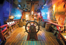 Main deck, St. Augustine Pirate & Treasure Museum, St. Augustine, Fla.