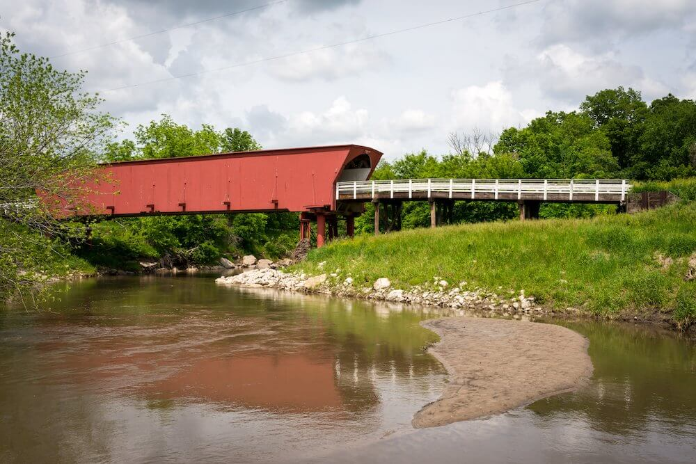 Madison County Iowa covered bridge