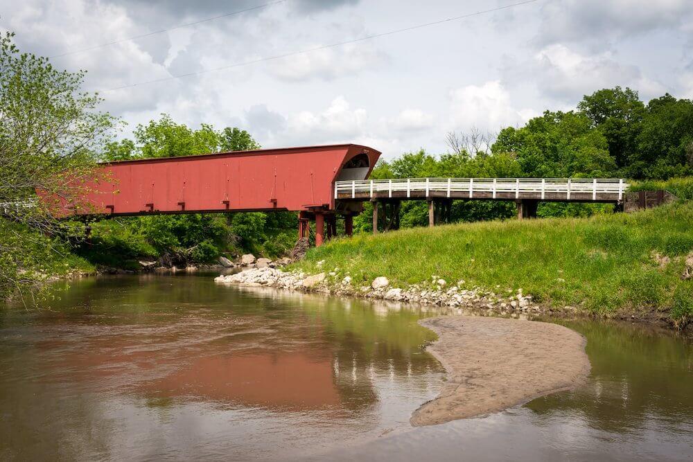 Madison County Iowa covered bridge