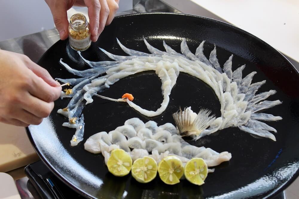 Tohoku Takifugu blowfish Japan