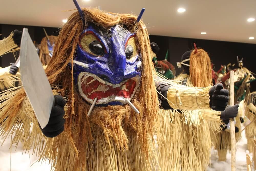 Tohoku namahage mask Japan