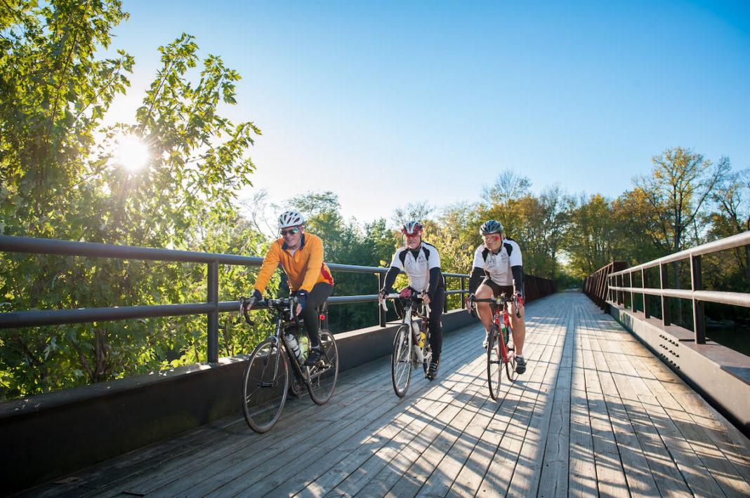 Miami County Ohio bicyclists