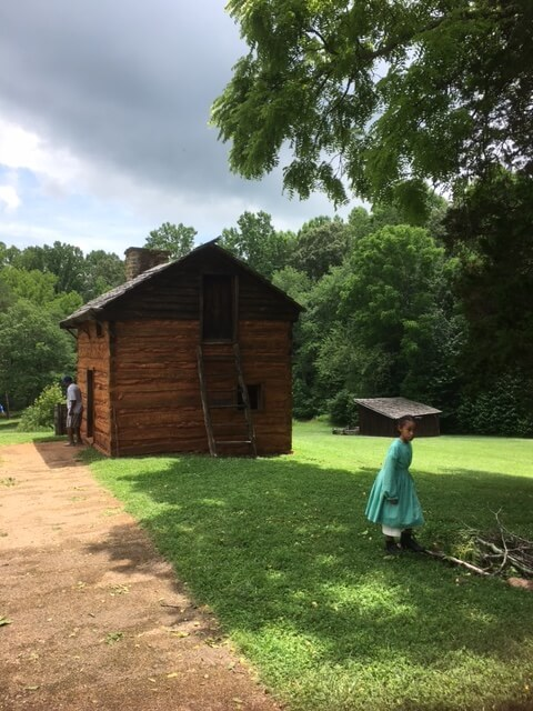 Booker T. Washington National Monument cabin