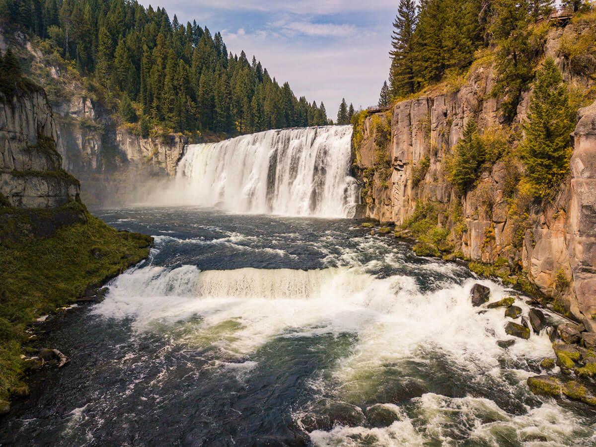 Upper Mesa Falls, Idaho Falls Idaho