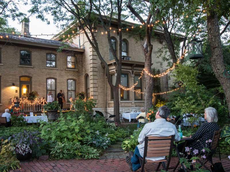 Sanger House Gardens Exterior