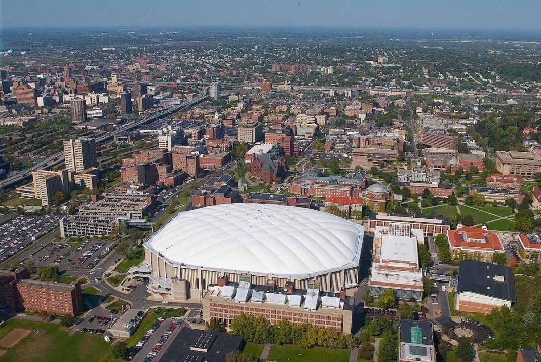 Syracuse aerial shot