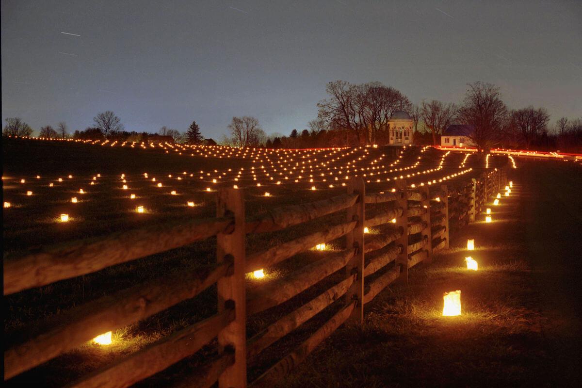 Hagerstown Antietam illumination